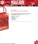 Screenshot: West End Christmas Website -  Media Centre