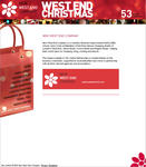 Screenshot: West End Christmas Website - The New West End Company