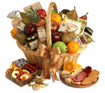 Gourmet Food Gift Basket - Seasons Bounty (Free Shipping)