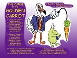 Golden Carrot Cartoon
