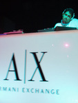 PALASH at Armani Exchange After Party for Giorgio Armani