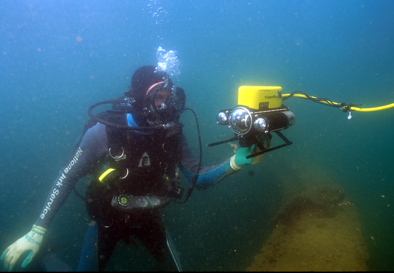Archeologists Return to USS ARIZONA with VideoRay ...