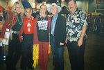 "Stars of Denver's ""Salute to America's First Caretakers,"" L-R, Olympian Suzy Chaffee, Champion Speed Skier Stew Young (Tulalip), Colleen Lloyd (Cherokee), Olympian Billy Kidd (Abenaki), and Woody Vaspra (Hawaiian), President of World Council of Elders."
