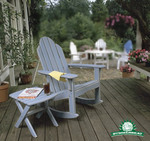 Adirondack Rocking Chair & End Table