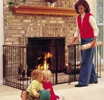 Protect Toddlers with the HearthGate Fireplace Safety Gate