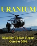 CanAlaska October Uranium - Gold Report Cover