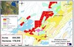 CanAlaska Ventures November 2004 Land Position Map