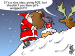 Poi Christmas Cartoon