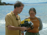 Couple finds lost underwater robot