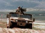 Humvee Treated With VehicleGARD On Patrol