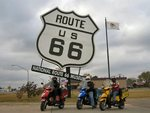 Historic Route 66 and the TGB Scooters