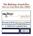 Creative: The NetLingo Search Box