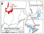 West Timmins Project Map
