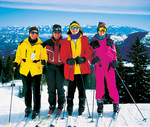 Women's Downhill Ski Clinic in Montana with AdventureWomen