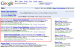 SmartPR displayed in 3 varations in Google web results