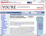 SmartPR as displayed on Yahoo News