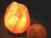 Salt Lamps Produce Negative Ions : Natural Salt Crystal Lamps Produce Healthy Negative Ions