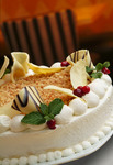 White Chocolate Macadamia Cheesecake