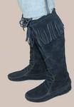 Minnetonka Front Laced Hardsole Boot