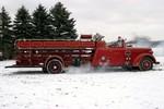 Mickey Mishne's 1946 La France Fire Engine