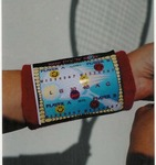 """Keep Dry """"N"""" Score Sticker For Your Wristband"""