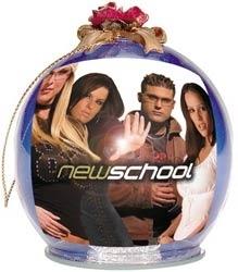 NewSchool Christmas Ornament