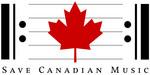 Save Canadian Music Logo