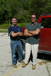 Jay McCarthy and Arnold Schwarzenegger