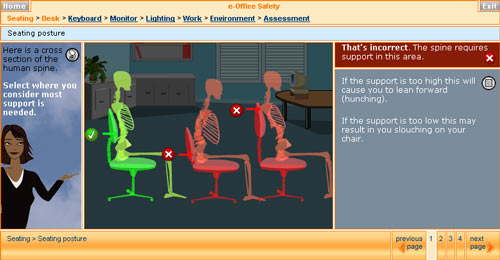 E Office Safety The Bottom Line Or Ergonomics