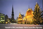 Riga Old Twon Square at Christmas