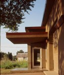 The Urban Prairie House: Entry
