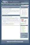 Celebrex Legal Information Screen Shot