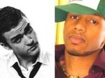 Pop singer Eric West and music rival Justin Timberlake