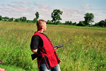 """Patrick Flanigan Professional Exhibition Shooter and Host of """"Midwest Wings""""."""