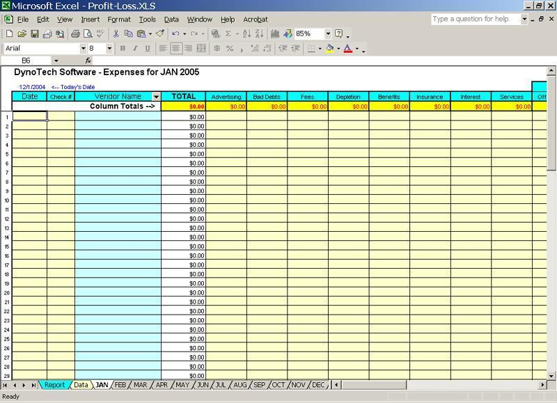 Track Expenses by Schedule C Categories