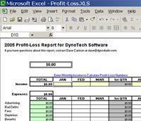 schedule c excel spreadsheet