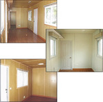 Fully finished interiors on all Global Portable Buildings