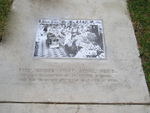 Sidewalk inlay, San Antonio Texas
