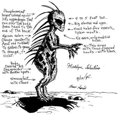 an examination of the different stories on the myth of el chupacabra Camping crimes and punishments : an examination of girls camp and scout camp pranking lore / lesli speirs dates: 1996 speirs collected folklore and.