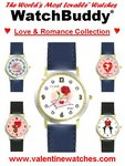"""WatchBuddy® """"Love & Romance Collection"""" Watches"""