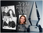 Constance Wherrity 2004 Publicist of the Year Award