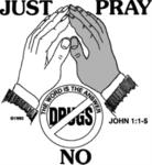 """Just Pray NO!"" Logo"