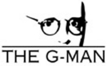 The G-Man logo created by Phil Hatten Design.