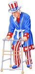 Uncle Sam Hospitialized!!!