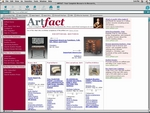 Artfact's web address is www.artfact.com