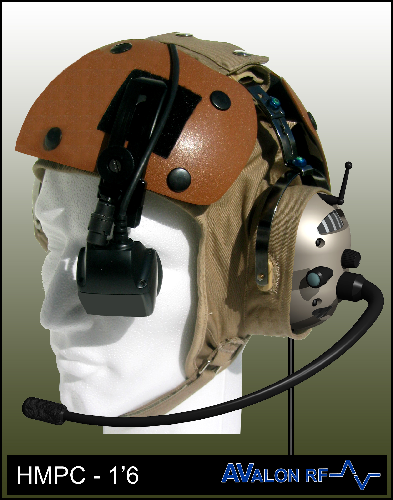 Helmet Dispay with Wearable computer