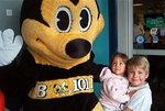 Buzz Bee Entertains Children