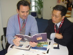 Nicholas Rhodes works with one of China's leading travel agents.