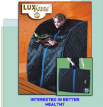 The new patented, portable LuxSauna