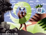 Ecliptic IT stock illustrations
